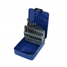 Tap and drill set 18 pieces metric