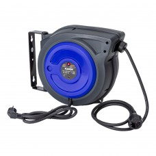 Cable reel automatic 230V 15m