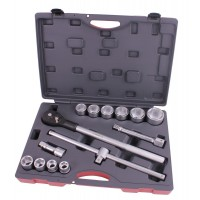 Socket wrench set 3/4