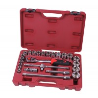 Socket wrench set 1/2