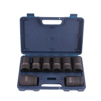 Impact socket set and accessories (15)