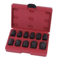 Impact socket set 1/2
