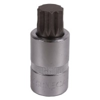 Spline socket bit 1/2'' 55mm  (8)