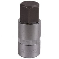 Hex socket bit 1/2'' 55mm metric (10)