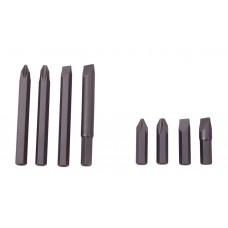 Bits for heavy duty impact driver 8 pieces professional