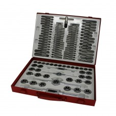 Tap and die set 110 pieces metric and sae