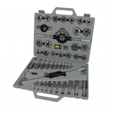 Tap and die set 45 pieces sae