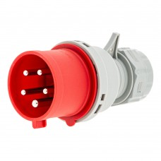 CEE plug 5 pin 32A with phase inverter