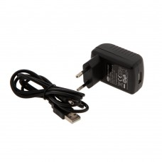 Charger + USB cable for work lights WL04CM and WL04UV