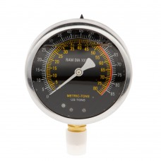Manometer for shop press SP50HEL