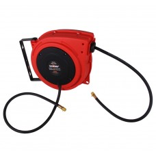 Air hose reel automatic polymer 1/4'' x 10m