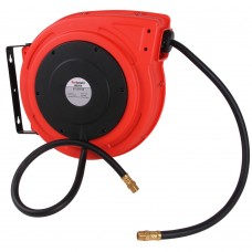 Air hose reel automatic polymer 1/2'' x 15m