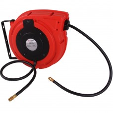 Air hose reel automatic polymer 3/8'' x 15m