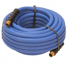 Rubber air hose 13mm 20m with thread Blubird