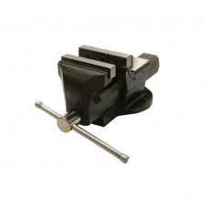 Bench vise with pipe jaws 125mm
