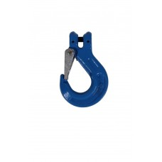Clevis sling hook with cast latch 8 mm grade 100