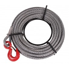 Steel cable 20m for 800kg cable puller