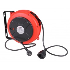 Cable reel automatic 230V 10m
