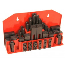 Steel clamping set M10 x 12mm 52 pieces