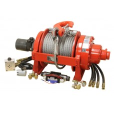 Hydraulic car winch 24V 20000lbs