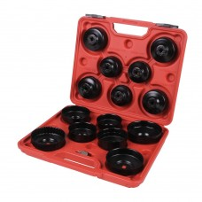 Cup filter wrench set 15pcs