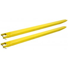 Forklift extensions closed 10cm 2,4mtr long