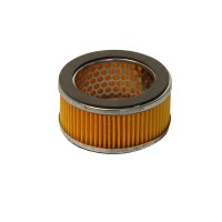 Air filter element for silent compressor