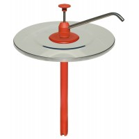 Handpump & stainless steel cover for 10 liter bucket