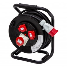 Cable reel 20m 2.5 mm2 three phase