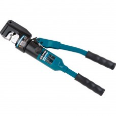 Hydraulic crimping tool with safety system 16-300mm2