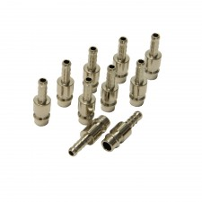 Pipe connector euroline 6mm 10pcs