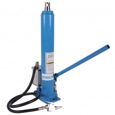Air / manual long ram jack 8 ton