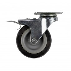 Caster wheel with brake for motorcycle lift ML13HS