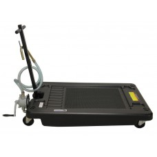 Oil drain dolly with hand pump 17 gallons