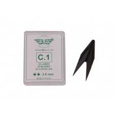 Blade set for tyre regroover 20pcs C1
