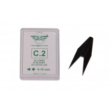 Blade set for tyre regroover 20pcs C2