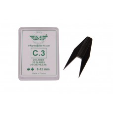 Blade set for tyre regroover 20pcs C3