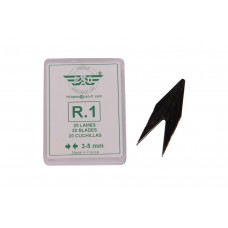 Blade set for tyre regroover 20pcs R1