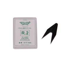 Blade set for tyre regroover 20pcs R2