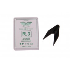 Blade set for tyre regroover 20pcs R3