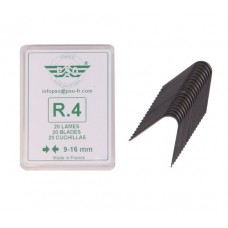 Blade set for tyre regroover 20pcs R4