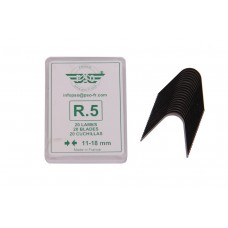 Blade set for tyre regroover 20pcs R5