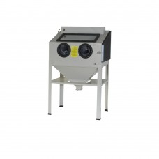 Sand blast cabinet 220ltr with 1 side door
