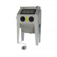 Sand blast cabinet 350Ltr with 2 side doors