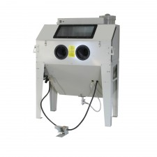 Sand blast cabinet 420Ltr with front door and 2 side doors
