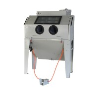 Sand blast cabinet 420Ltr with front door