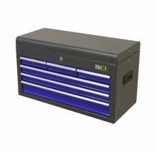 Tool box 6 drawers blue