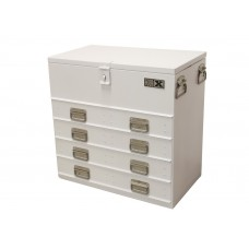 Truck cabinet steel with 4 drawers