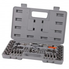 Tap and die set 40 pieces SAE
