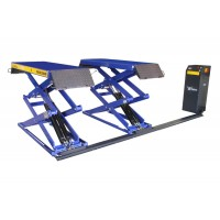 Low profile double scissors lift 3000kg 400V